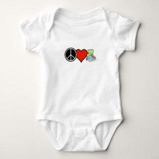 Peace Love Books! One piece bodysuit! Tee! Baby Bodysuit