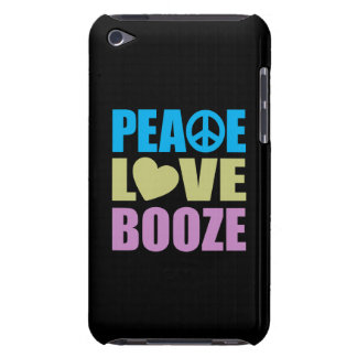 Peace Love Booze Barely There iPod Cover