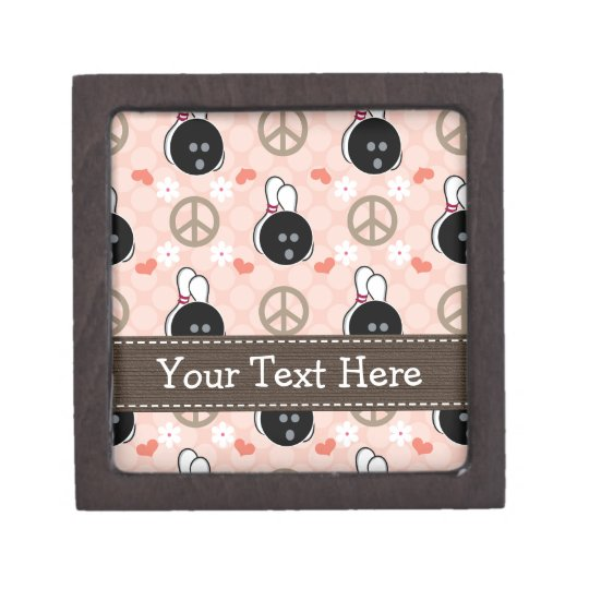 Peace Love Bowl Bowling Gift Box