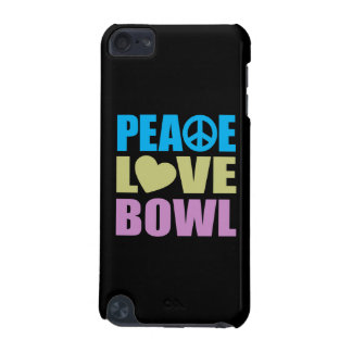 Peace Love Bowl iPod Touch (5th Generation) Cover