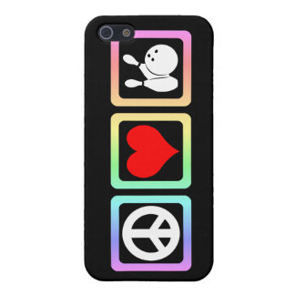 peace love bowling cases for iPhone 5