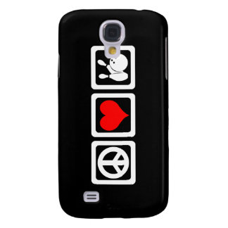 peace love bowling galaxy s4 cover