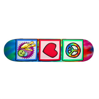 Peace, Love, Bowling Skateboards