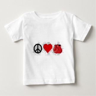 Peace Love Box Emblem Baby T-Shirt