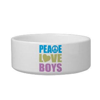 Peace Love Boys Bowl