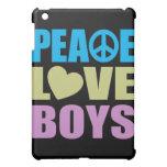 Peace Love Boys Cover For The iPad Mini
