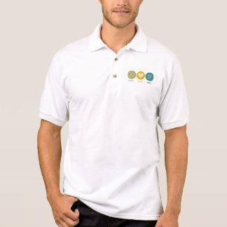 Peace Love Brew Polo Shirt