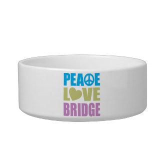 Peace Love Bridge Bowl