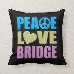 Peace Love Bridge Pillows