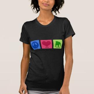 Peace Love Bulldog T-Shirt