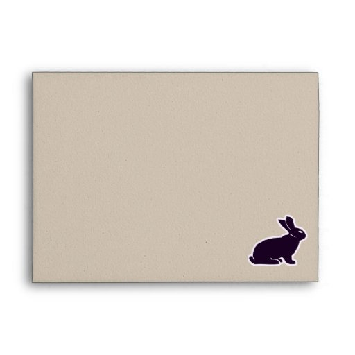 Peace, Love, Bunnies Envelope