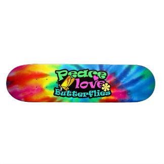 Peace, Love, Butterflies; Retro Skate Boards
