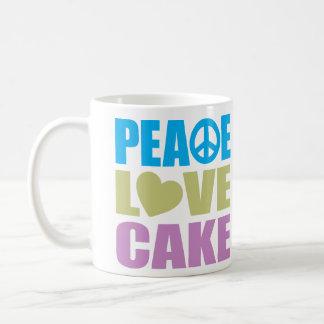 Peace Love Cake Mug