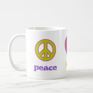 Peace, Love & Calculus Coffee Mug