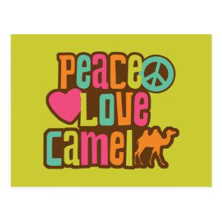 Peace Love Camel Post Cards