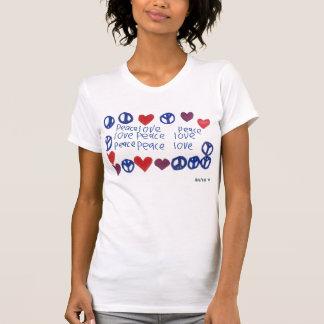 Peace & Love Cami Tee Shirt