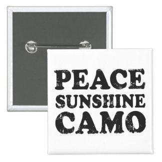 Peace Love Camo Button