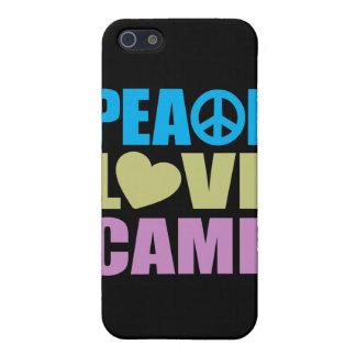 Peace Love Camp iPhone 5 Case