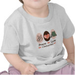 Peace Love Camping Baby T shirt