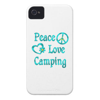 Peace Love Camping Case-Mate iPhone 4 Cases