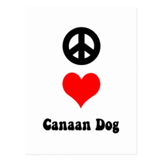 peace love Canaan Post Cards