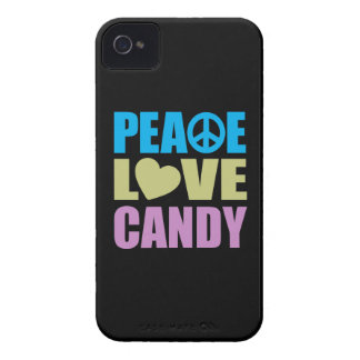 Peace Love Candy iPhone 4 Cases