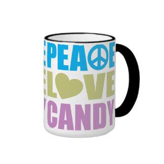 Peace Love Candy Mug