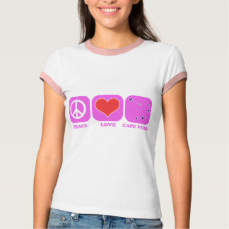 Peace Love Cape Verde T-Shirt