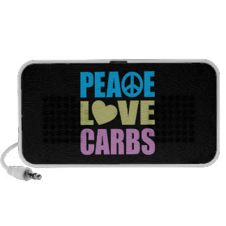 Peace Love Carbs Mini Speaker