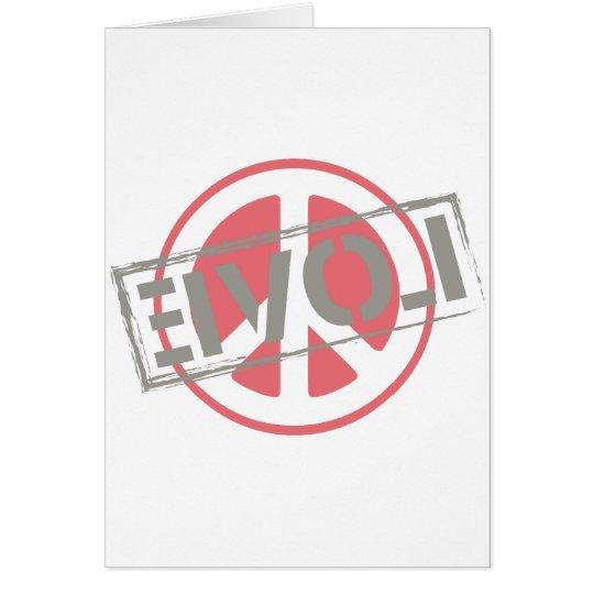 Peace Love Card