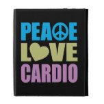 Peace Love Cardio iPad Case