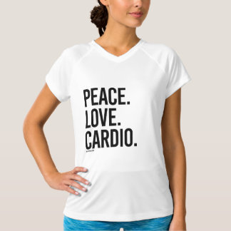 Peace Love Cardio -  .png T-Shirt