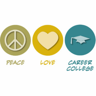 Peace Love Career College Photo Sculpture