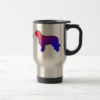 Peace Love Catalan Sheepdogs Travel Mug