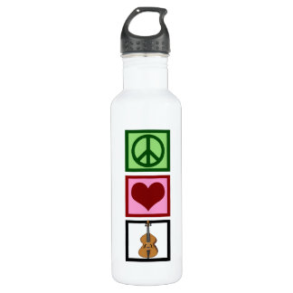 Peace Love Cello Water Bottle