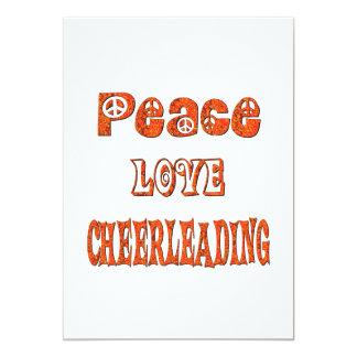 Peace Love Cheerleading Announcements