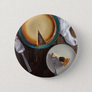 Peace Love Cheescake Pinback Button