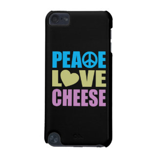 Peace Love Cheese iPod Touch 5G Case