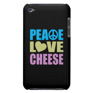 Peace Love Cheese iPod Touch Case
