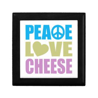 Peace Love Cheese Gift Box