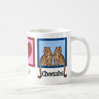Peace Love Cheetahs Coffee Mug