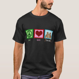 Peace Love Cheetahs T-Shirt