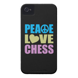 Peace Love Chess iPhone 4 Covers