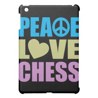Peace Love Chess iPad Mini Case