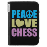 Peace Love Chess Kindle Covers