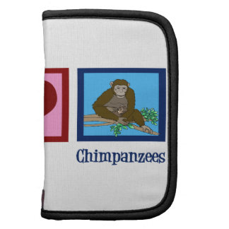 Peace Love Chimpanzees Planner