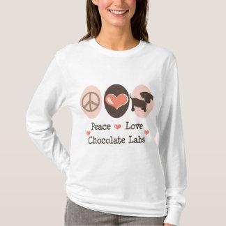 Peace Love Chocolate Labs Hoodie