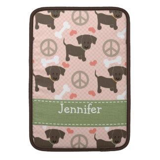Peace Love Chocolate Labs MacBook Air Sleeve 13 /