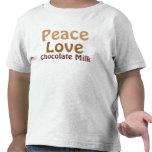 Peace, Love, Chocolate Milk T Shirt