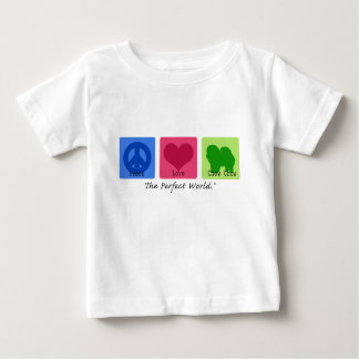 Peace Love Chow Chow Baby T-Shirt